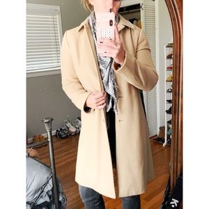 BANANA REPUBLIC WOOL PEA COAT.